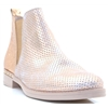 A-7223 - WONDERS ROSE GOLD CHELSEA BOOTS