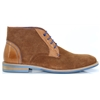 Leonard - JUSTIN REECE BROWN ANKLE BOOTS