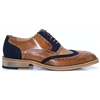 Fred - JUSTIN REECE BROWN AND NAVY BROGUES