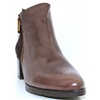 1164 - PANACHE BROWN ANKLE BOOTS
