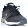 1289-301 - MUSTANG BLACK TRAINERS