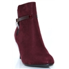 FIZZ-8 -  SUSST BURGUNDY ANKLE BOOTS