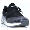 1289-403 - MUSTANG BLACK SLIP ON TRAINERS