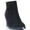 Ruth-8 - SUSST BLACK ANKLE BOOTS