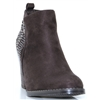 48534 - XTI GREY ANKLE BOOTS