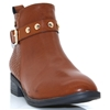 48432 - XTI TAN ANKLE BOOTS