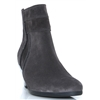 95.611 - GABOR DARK GREY ANKLE BOOTS