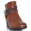 CENTRAL ONE - ZANNI & CO TAN ANKLE BOOTS