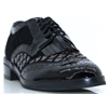 SILENA - MAMZELLE BLACK LACE UP SHOES