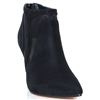 Dreams - UNA HEALY BLACK ANKLE BOOTS