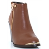 Lucia - ZANNI & CO TAN ANKLE BOOTS