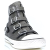Virgin Moon - ASH PEWTER HIGH TOP TRAINERS