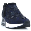 Lifting Star - ASH BLACK AND NAVY STAR SLIP ON TRAINERS