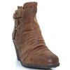 Kabul Classic - ZANNI & CO CARAMEL ANKLE BOOTS