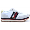 Tom.Sequin Retro Runner - Tommy Hilfiger WHITE TRAINERS