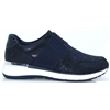24719-22 - MARCO TOZZI NAVY SLIP ON TRAINERS