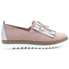 24703-32 - MARCO TOZZI ROSE SLIP ON SHOES WITH PEARL DETAIL