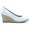 22440-22 - MARCO TOZZI WHITE PATENT WEDGES