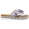 Rico - LUNAR PEWTER BOW SANDALS