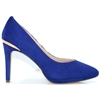 20021 - MENBUR BLUE SUEDE COURT SHOES