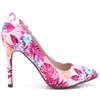 Morley - KATE APPLEBY PINK FLORAL COURT SHOES