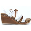 Custar - ZANNI & CO WHITE WEDGES