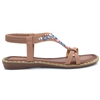 Thurmond - ZANNI & CO NUDE POP SANDALS