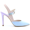 Verilo - LODI BLUE NUDE AND LILAC OCCASION HEELS