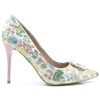 Burbank - ESCAPE BLUSH FLORAL HEELS