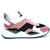FL5TP4 FAB12 - Guess White and Fuchsia Trainers