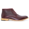 Greenville - JUSTINE REECE BROWN ANKLE BOOTS