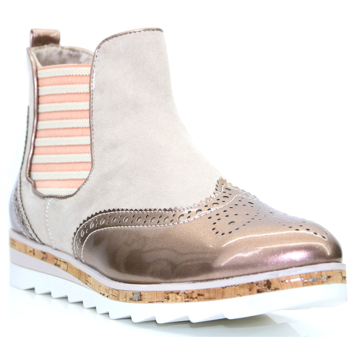 25403 30 marco tozzi rose chelsea boots panache shoe company. Black Bedroom Furniture Sets. Home Design Ideas