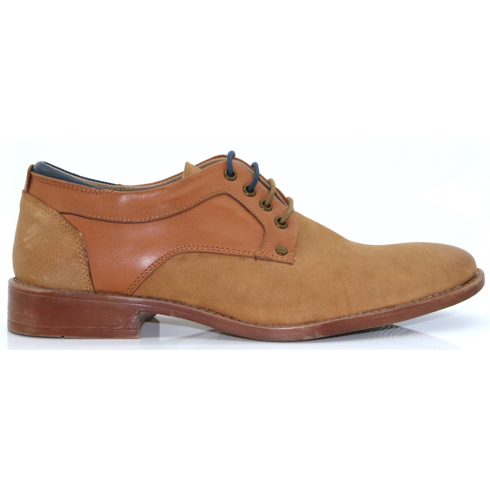 Telford Lace - PAOLO VANDINI TAN OXFORDS