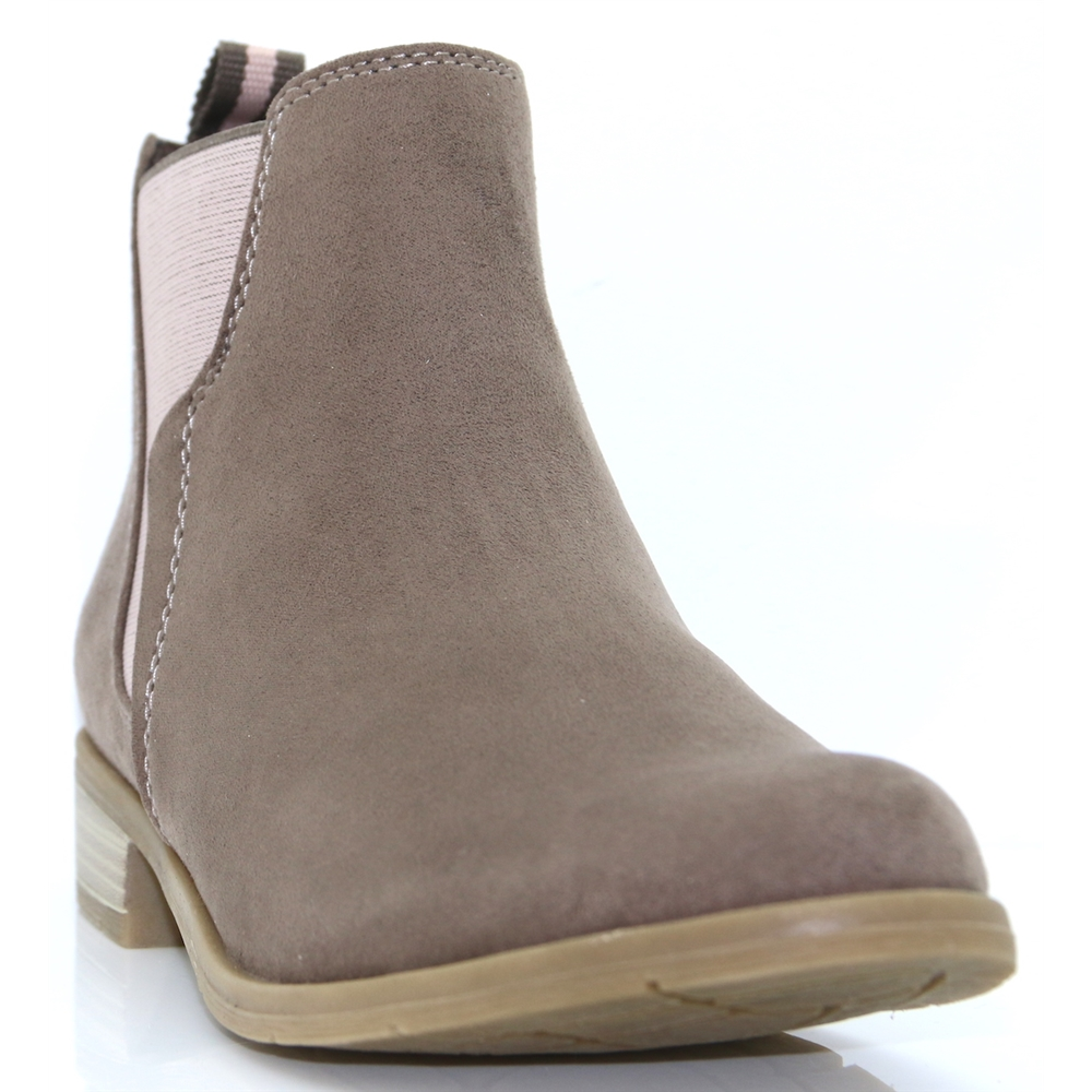25321-31 - MARCO TOZZI TAUPE CHELSEA BOOTS