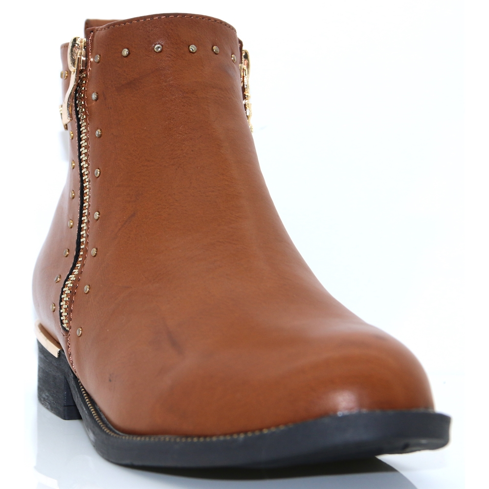 48619 - XTI CAMEL ANKLE BOOTS