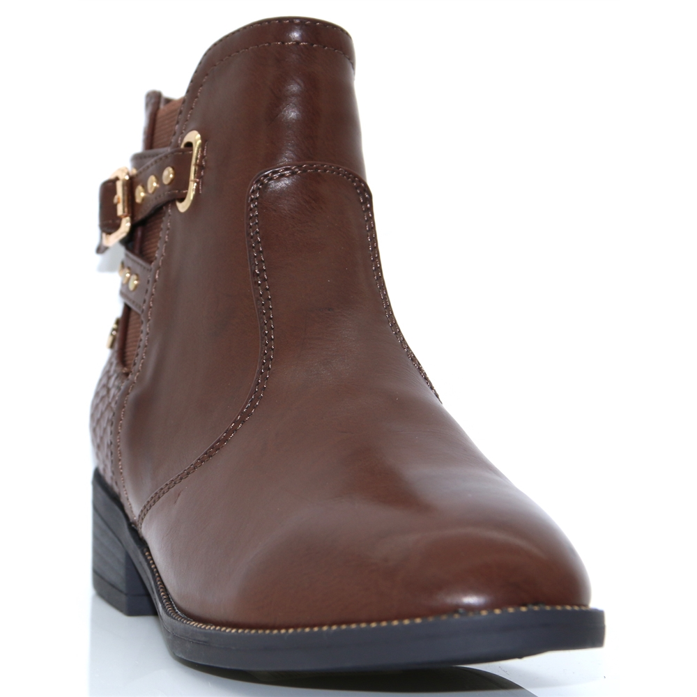 48433 - XTI BROWN ANKLE BOOTS