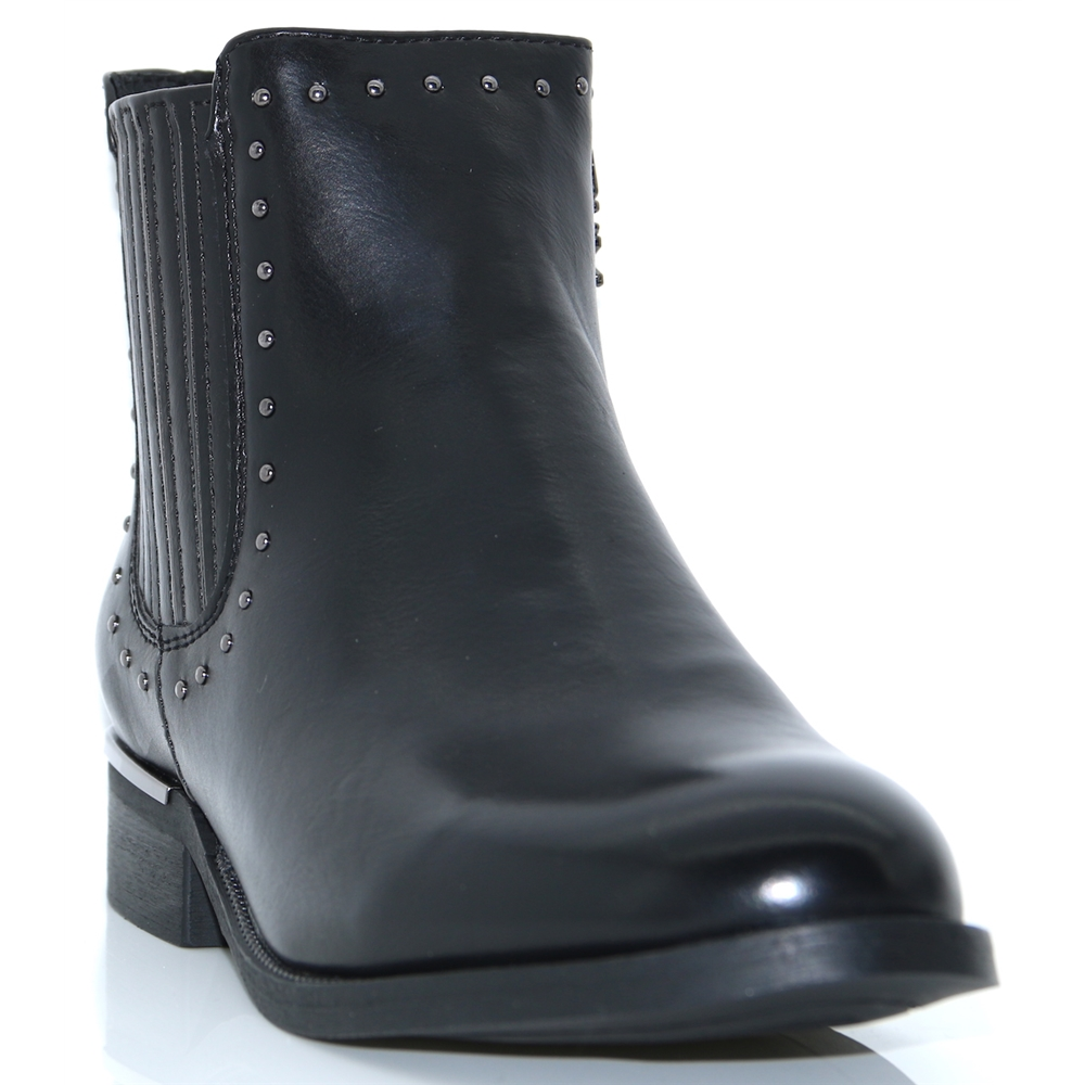 48617 - XTI BLACK ANKLE BOOTS