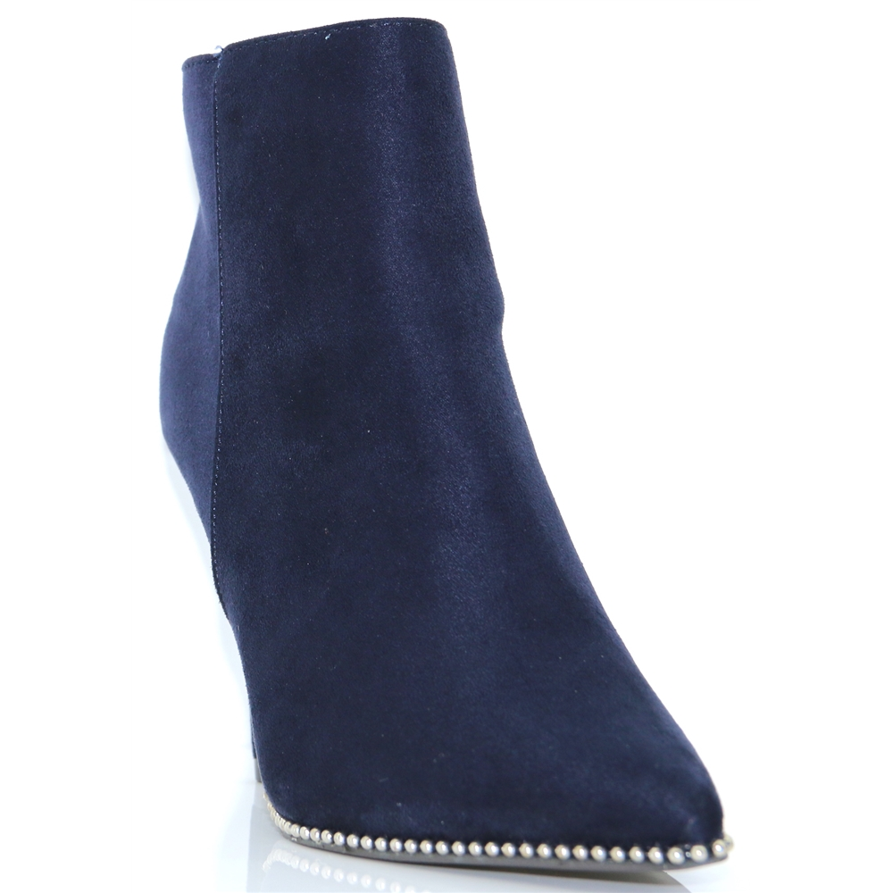 30952 - XTI NAVY ANKLE BOOTS