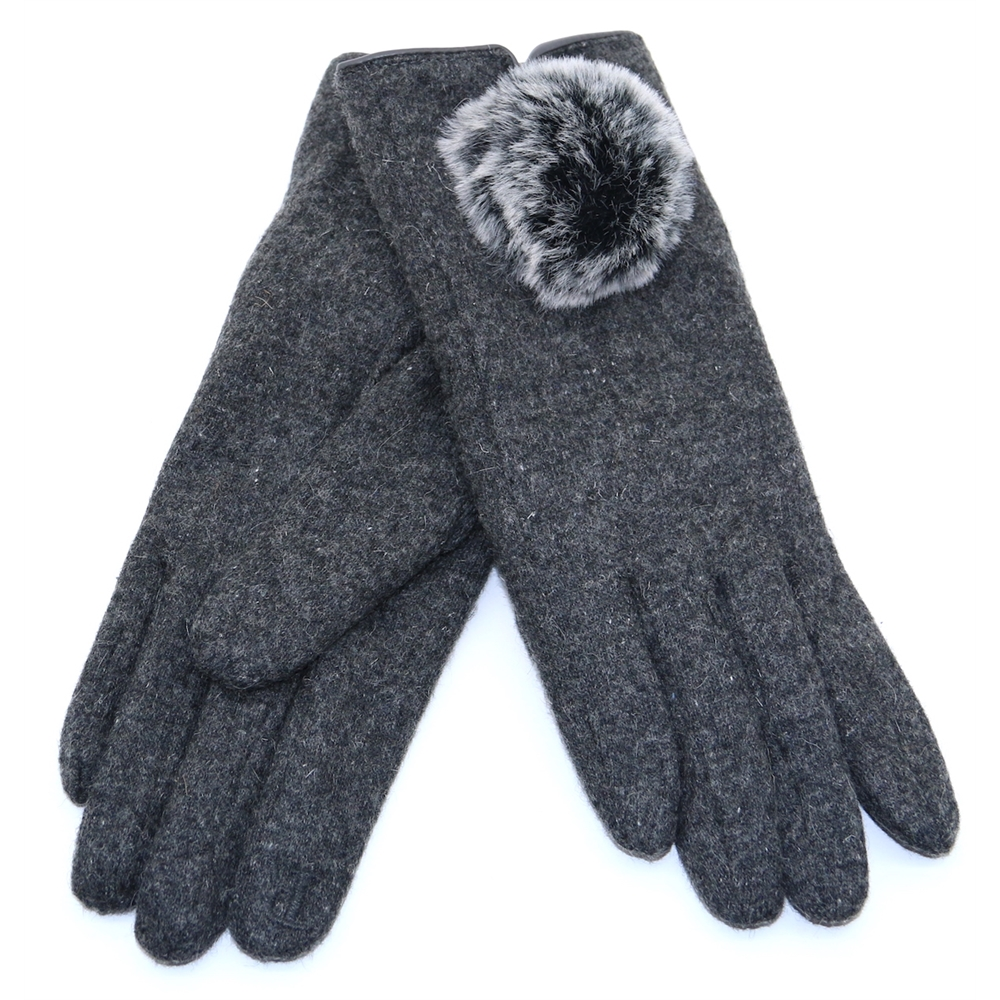 Lucia Glove - PIA ROSSINI GREY GLOVES