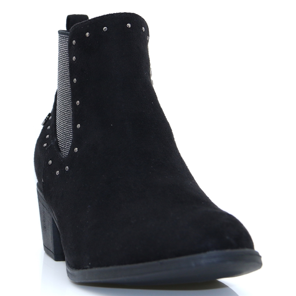 48561 - XTI BLACK ANKLE BOOTS