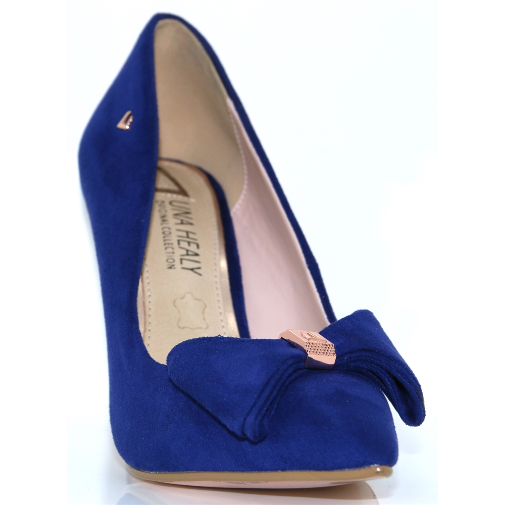 Never Forget - UNA HEALY BLUE OCCASION SHOES