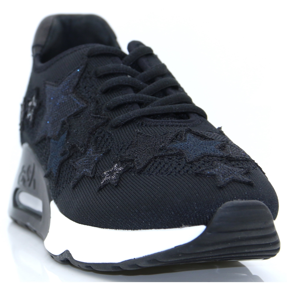 Lucky Star - ASH BLACK TRAINERS
