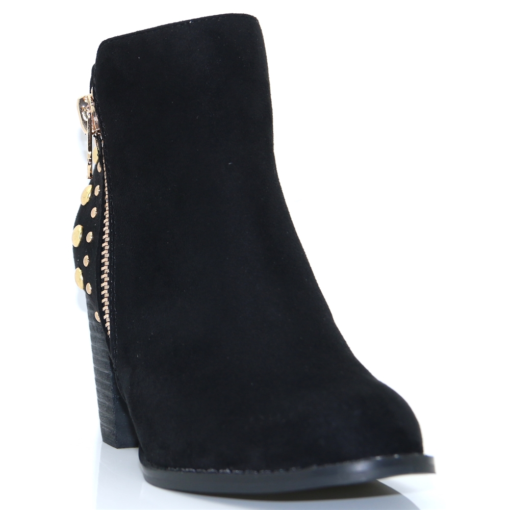 Alta Two - ESCAPE BLACK ANKLE BOOTS WITH STUDS