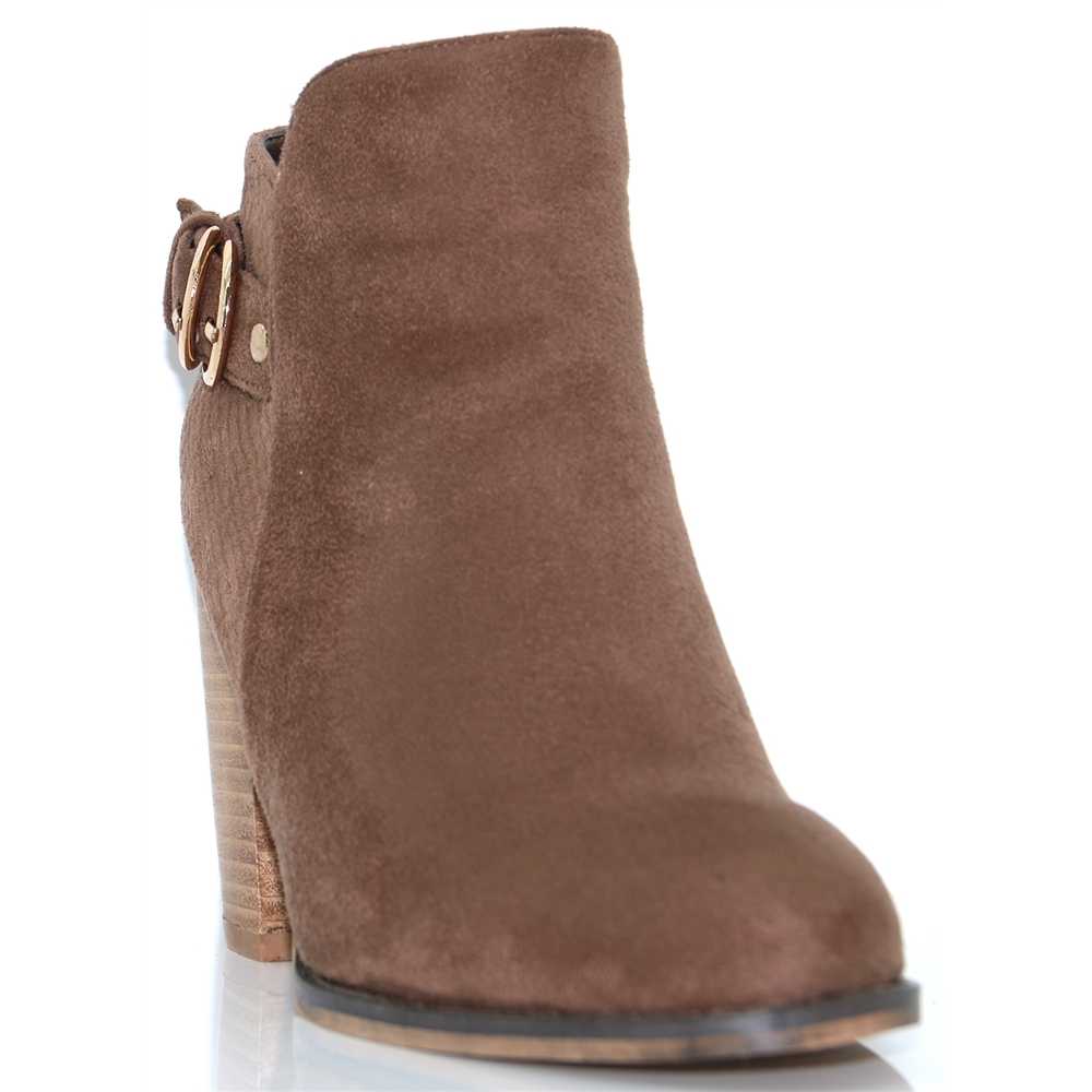 Hoonah Two - ESCAPE TAUPE LATTE ANKLE BOOTS