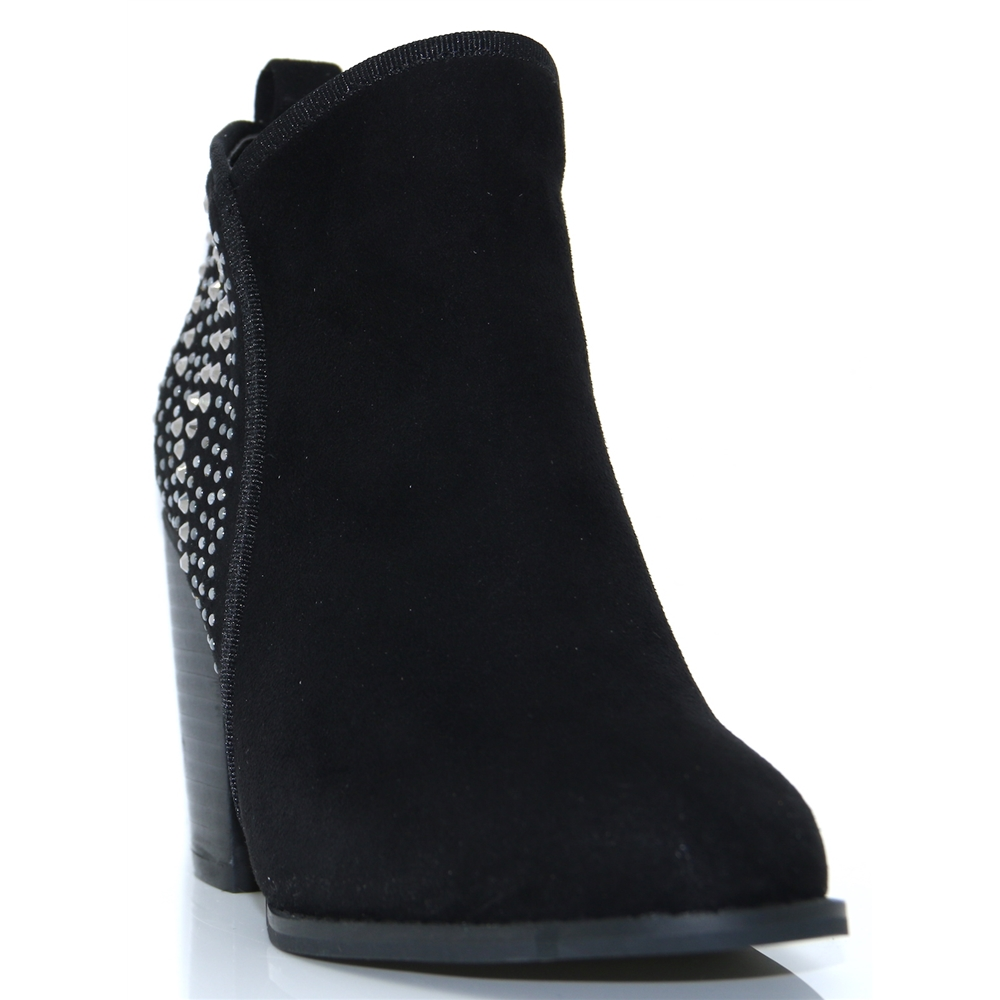 Breat Two - ESCAPE BLACK ANKLE BOOTS