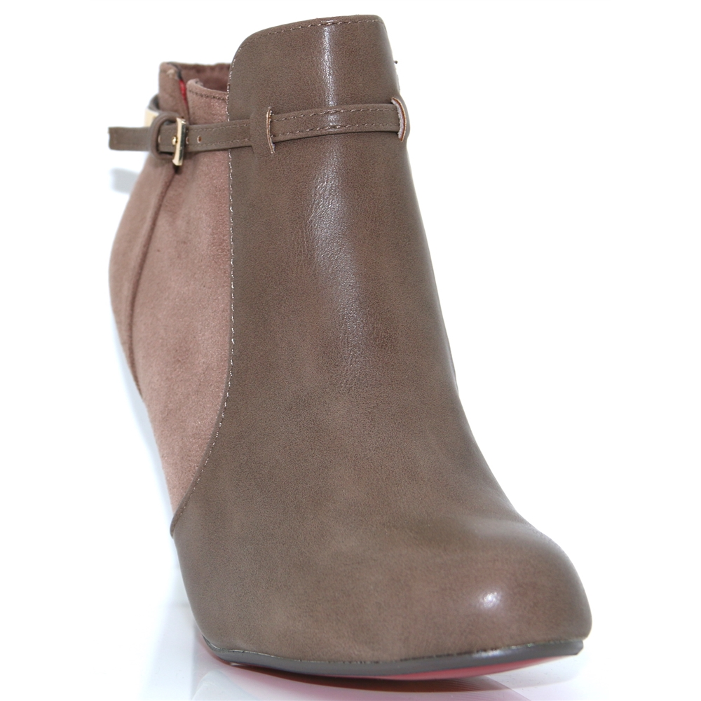 Sheen - KATE APPLEBY MINK ANKLE BOOTS