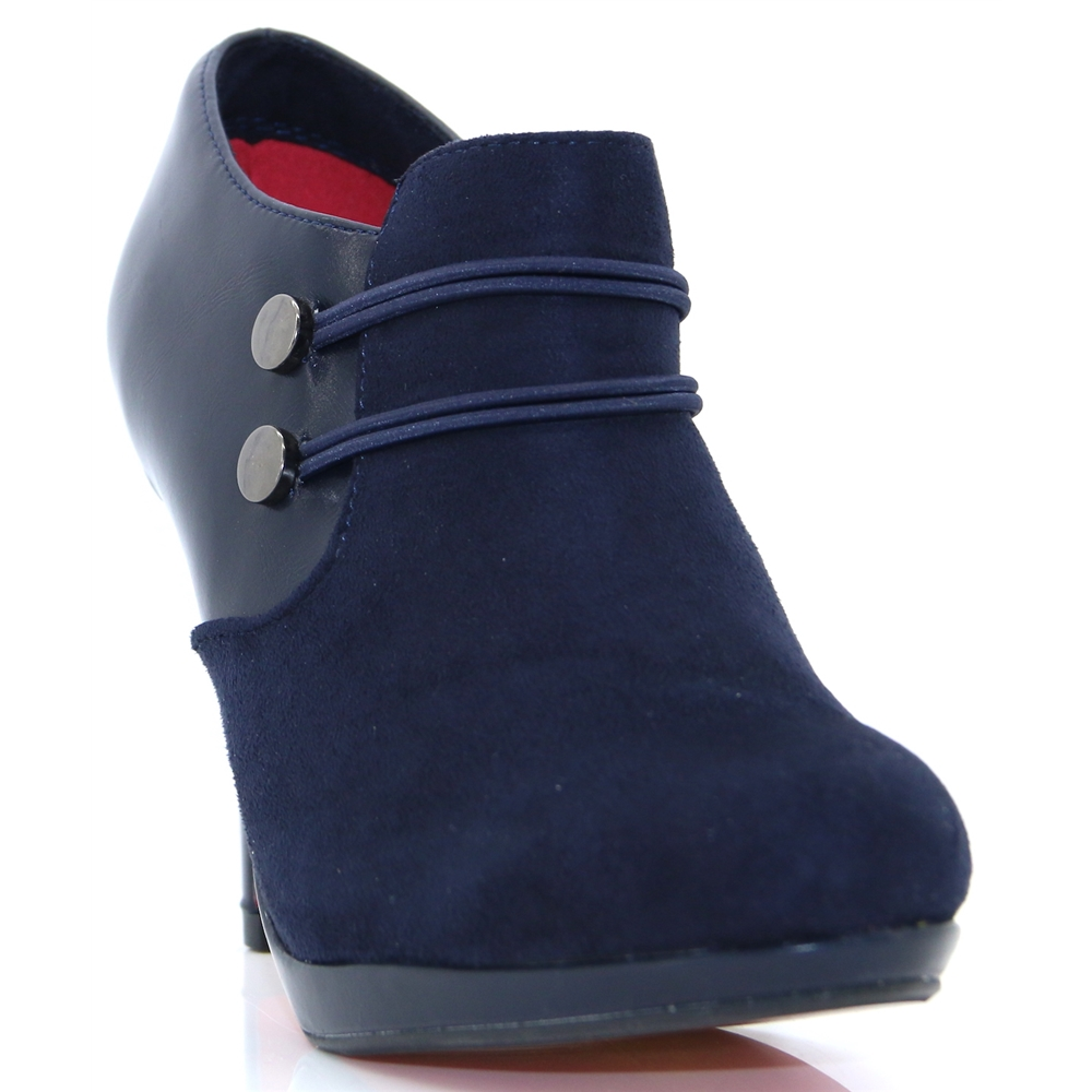 Kenley - KATE APPLEBY NAVY SHOE BOOTS