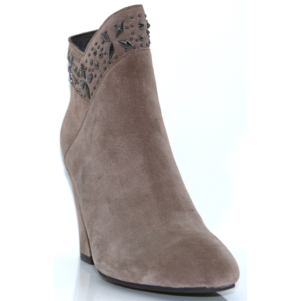 118124 - ALMA EN PENA TAUPE SUEDE ANKLE BOOTS