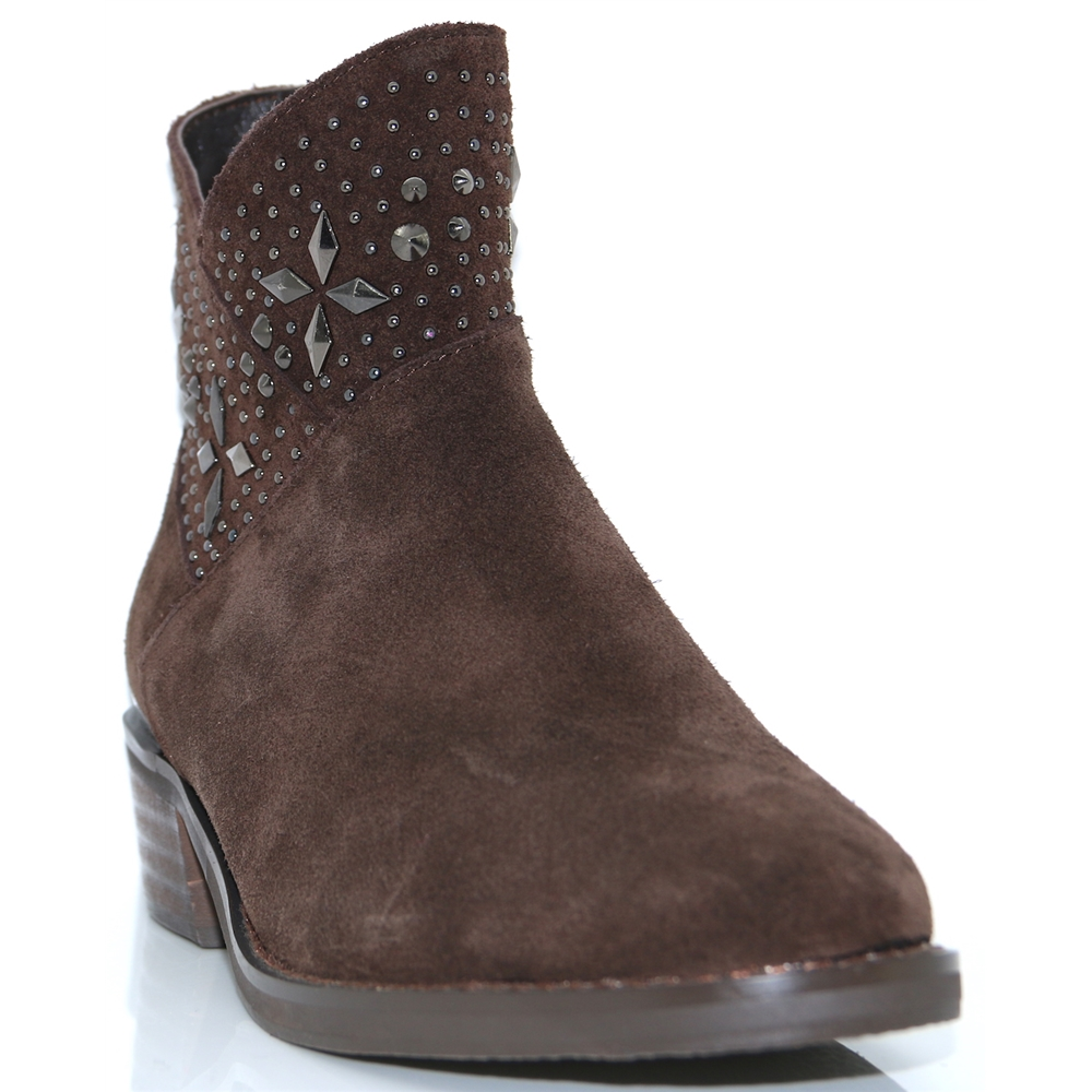 118300 - ALMA EN PENA COFFEE SUEDE ANKLE BOOTS