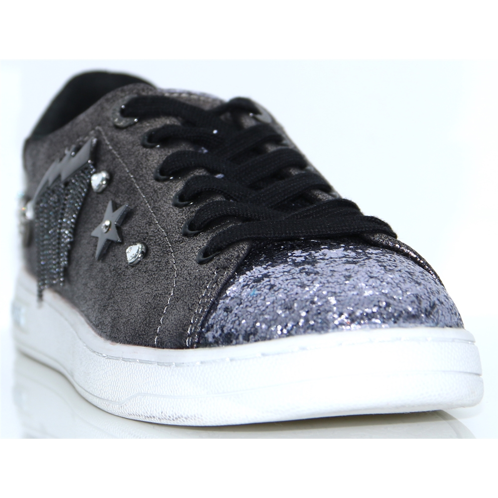 FLCIT4 ESU12 - GUESS PEWTER TRAINERS